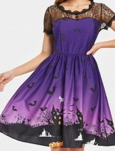 Dresses & Skirts - Purple Halloween dress